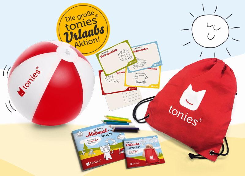 Gewinner Sommer-Tonie-Urlaubs-Kit