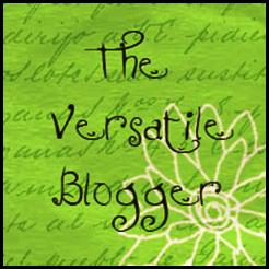 Award The versatile Blogger