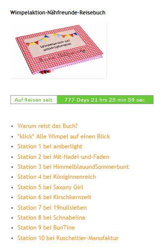 Wimpelaktion-Nähfreunde-Reisebuch: Station 10 (Kuscheltier-Manufaktur)