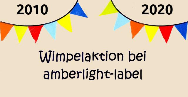 Wimpelaktion 2.0 2020 #amberlightsschulkindwimpel