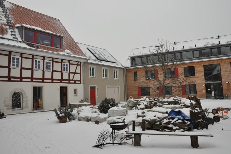 Jahreszeitenblick Projekt Vierseithof Winter 2016/17