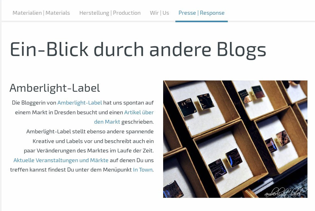 Amberlight-Label bei Circuit Accessoires