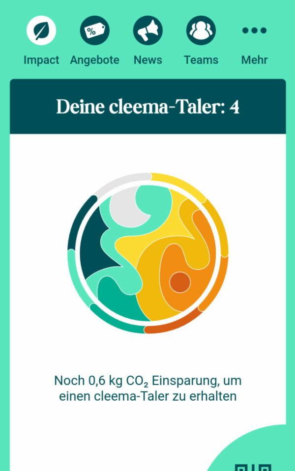 #cleema App Nachhaltigkeitsplattform für Dresden