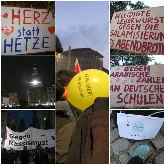 #herzstatthetze #nopegida #bloggerfuerflüchtlinge