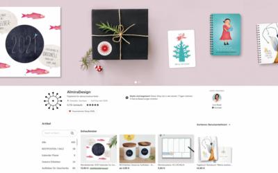 Werbung Etsy Geschenke Guide amberlight 2020 #blogvent2020 Vorfreude