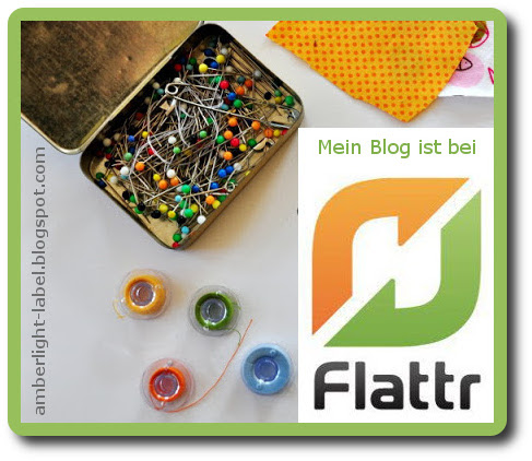 Flattr-Button für DIY-Blogs
