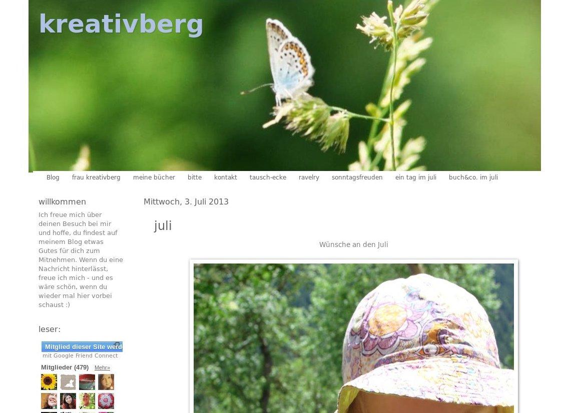 Teil 1 Baby-Pause-Blogvorstellungsinterview: Kreativberg
