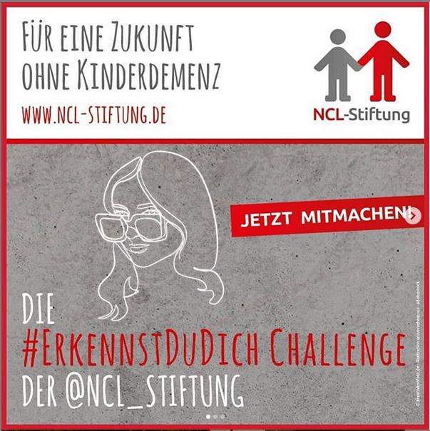 Challenge #erkennstdudich der NCL-Stiftung und #amberlightsspendenaktionncl