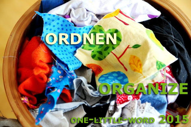 One little Word 2015: ordnen | organize
