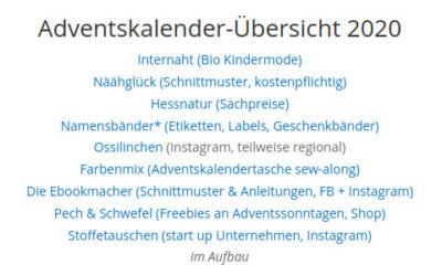 #Blogvent2020 Adventskalender online
