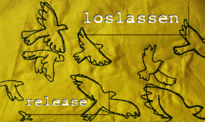 One little word 2014: loslassen | release