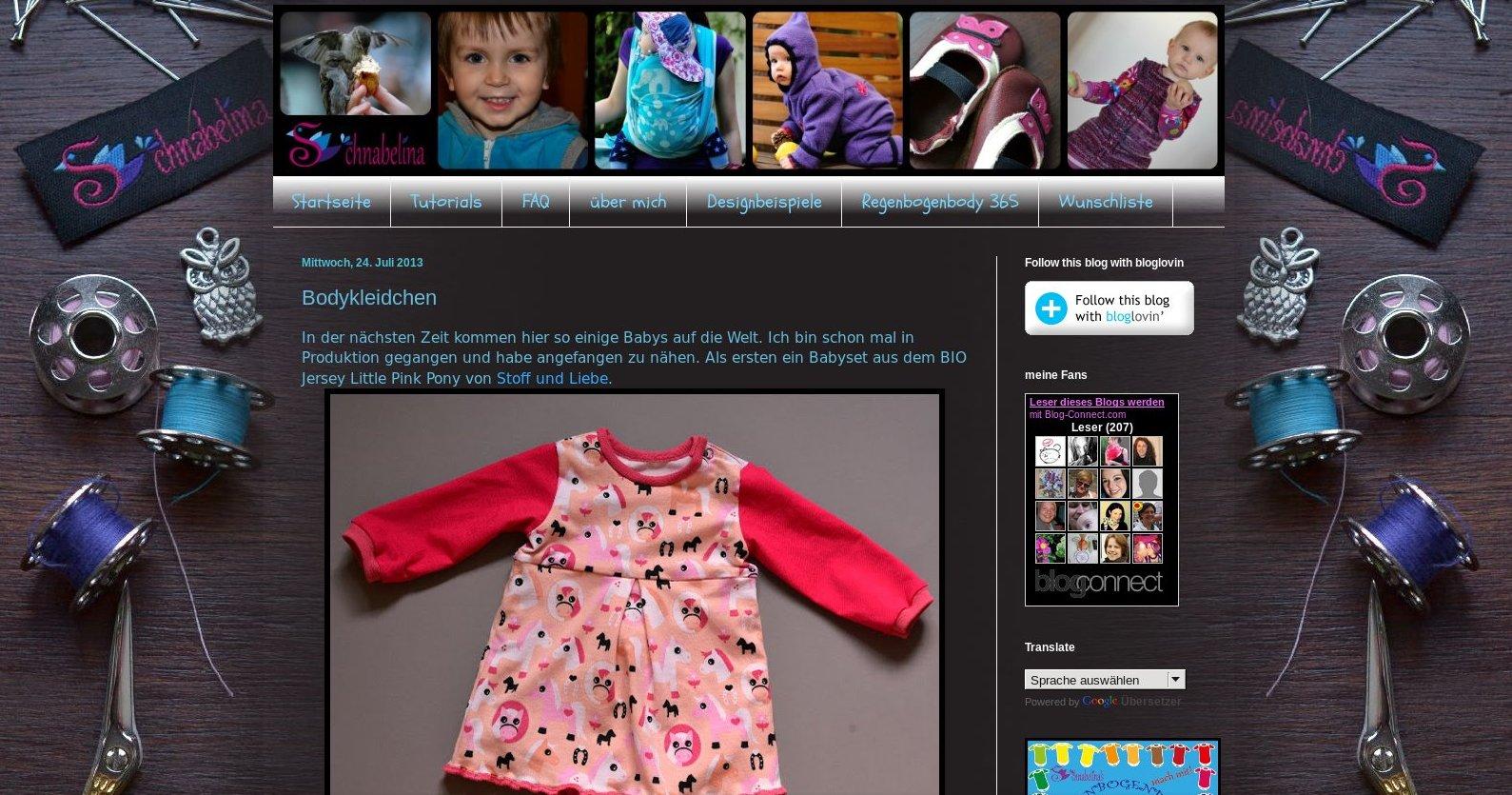 Teil 6 Baby-Pause-Blogvorstellungsinterview: Schnabelina
